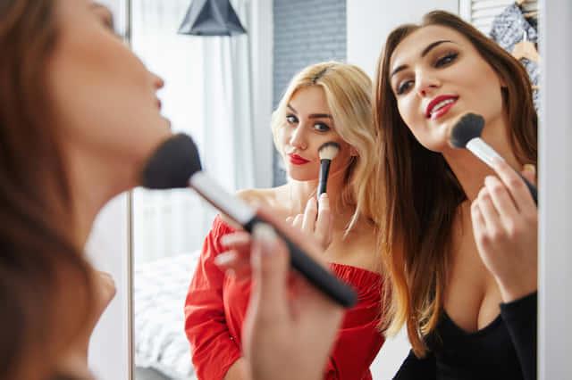 化粧 シェアハウス メイク